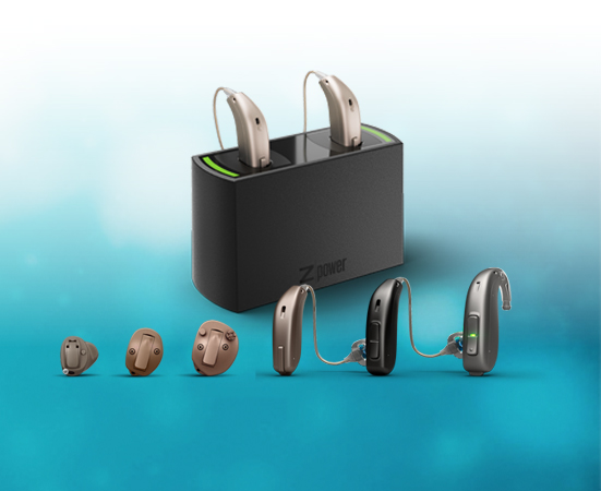 A picture of our Siya hearing device