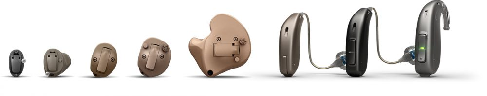 The full range of our hearing devices